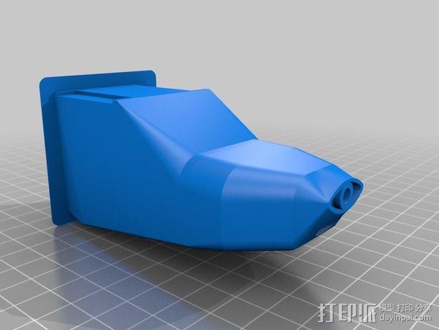 CH 701飞机 3D模型  图2