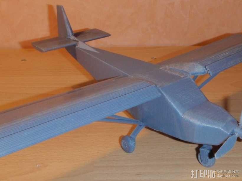 CH 701飞机 3D模型  图1