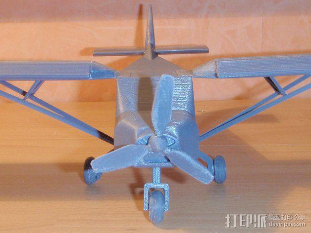 CH 701飞机 3D模型  图8