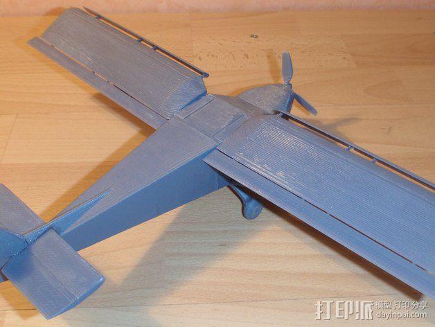 CH 701飞机 3D模型  图9
