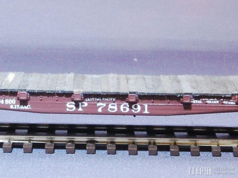 CS-35平板车 3D模型  图2