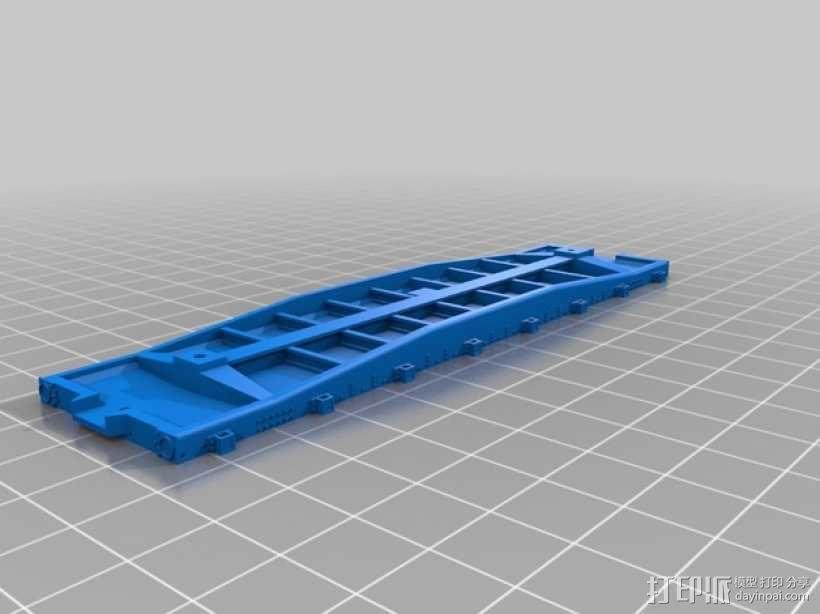 CS-35平板车 3D模型  图3