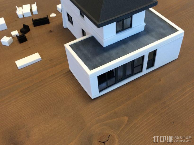 1:50房屋 3D模型  图2
