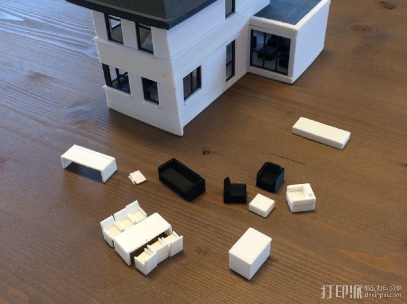 1:50房屋 3D模型  图1