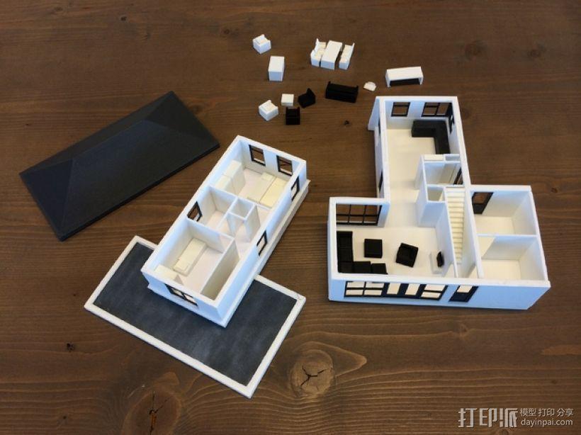 1:50房屋 3D模型  图3