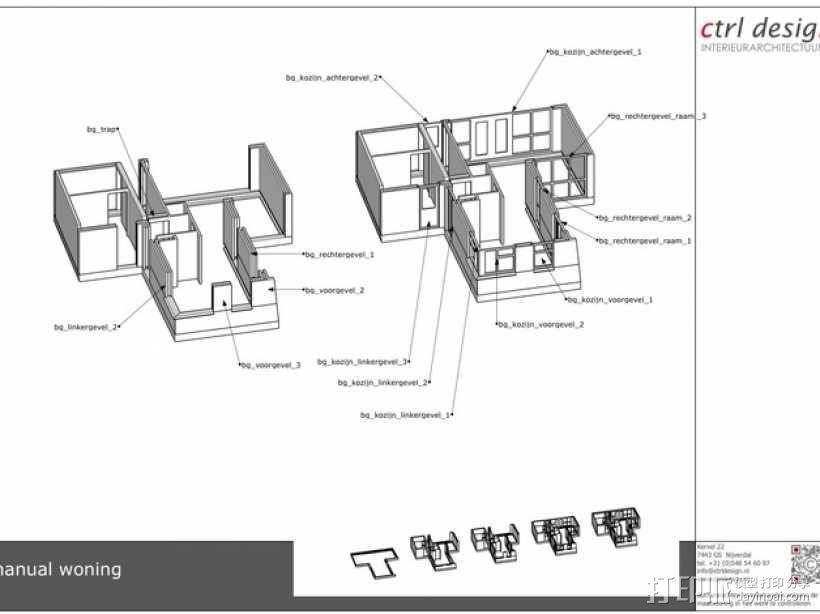 1:50房屋 3D模型  图6