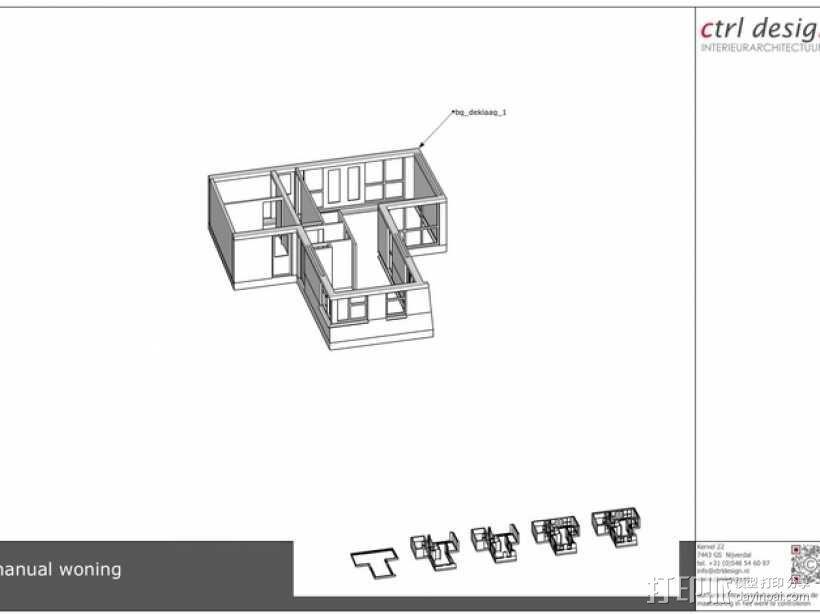 1:50房屋 3D模型  图7