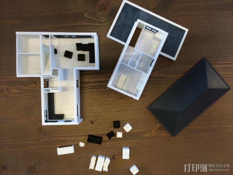 1:50房屋 3D模型  图4