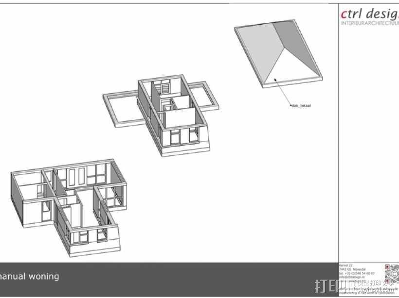 1:50房屋 3D模型  图11