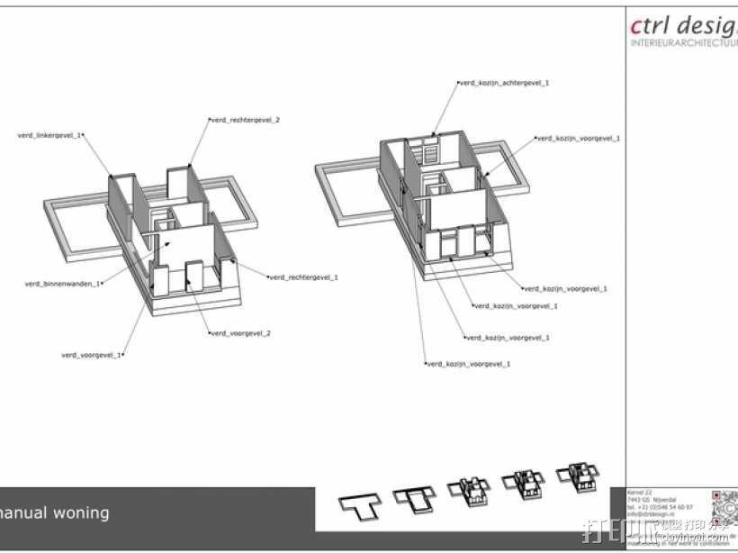 1:50房屋 3D模型  图9