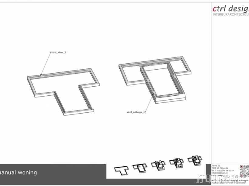 1:50房屋 3D模型  图8