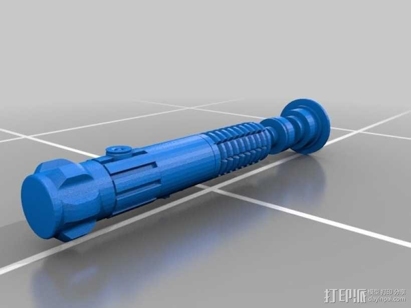 电影《绝地武士》欧比旺·肯诺比 光剑 3D模型  图4