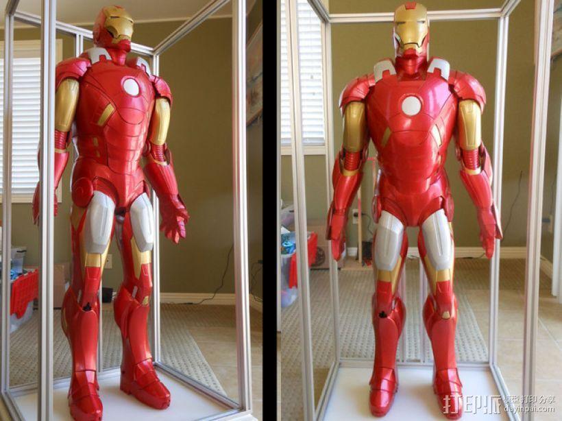 全尺寸钢铁侠 3D模型  图1
