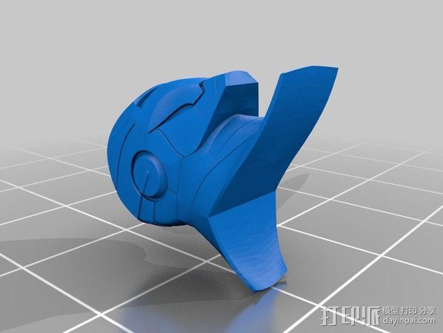 全尺寸钢铁侠 3D模型  图3