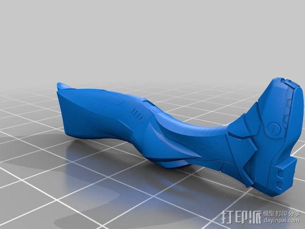 全尺寸钢铁侠 3D模型  图4