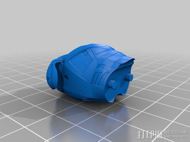 全尺寸钢铁侠 3D模型  图5