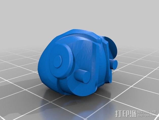 全尺寸钢铁侠 3D模型  图9