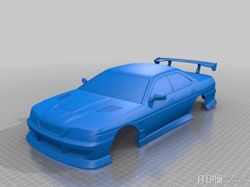 日产 Laurel C35汽车 3D模型  图1