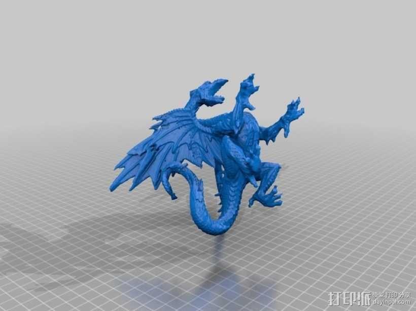 冰龙 3D模型  图2