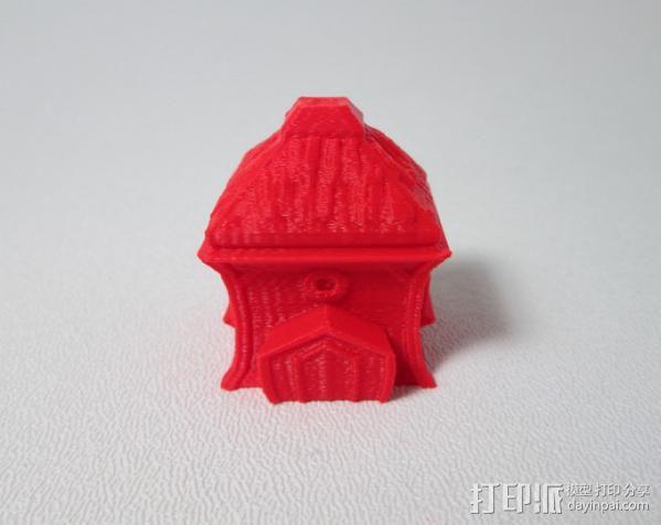 精灵小屋 3D模型  图2