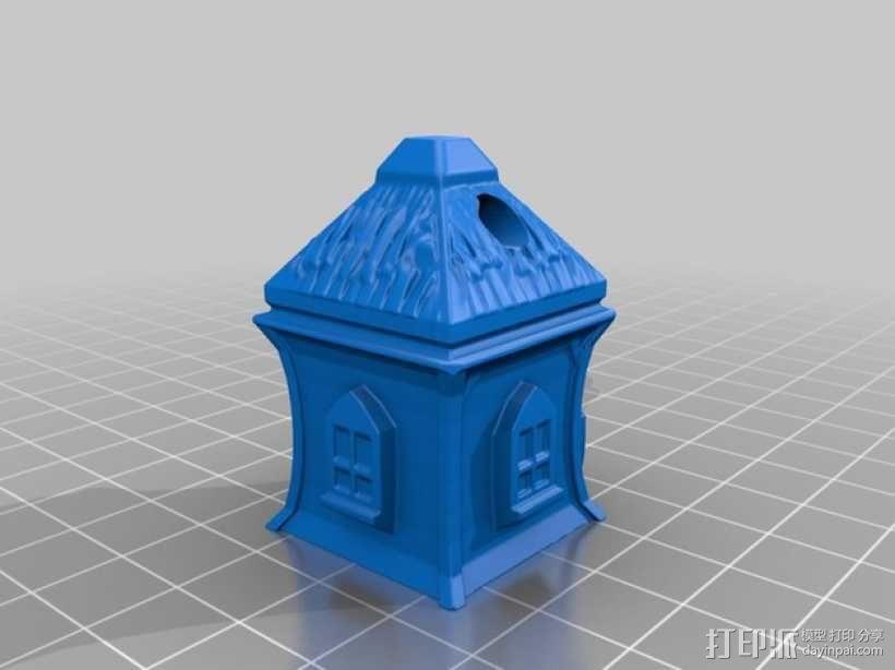 精灵小屋 3D模型  图1