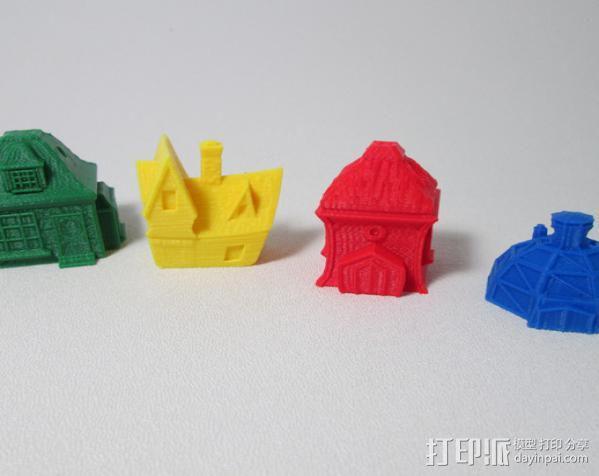 精灵小屋 3D模型  图3