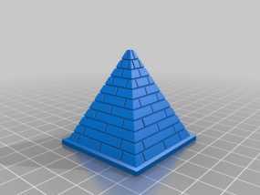 吉萨金字塔 3D模型