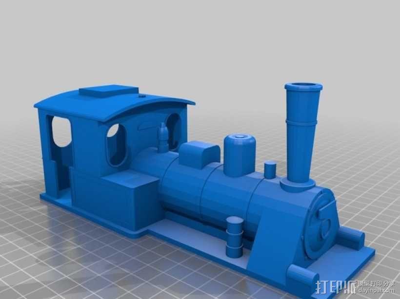 蒸汽机车 3D模型  图5