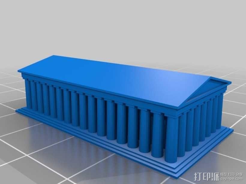 帕台农神殿 3D模型  图2