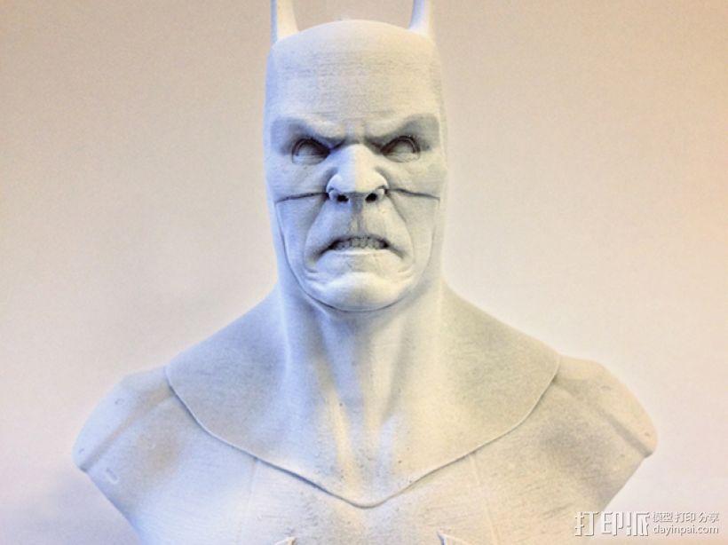 蝙蝠侠 半身像 3D模型  图5