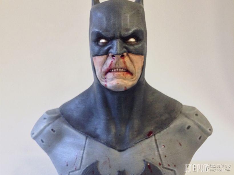 蝙蝠侠 半身像 3D模型  图8
