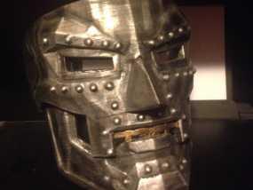 Dr Doom毁灭博士 面具 3D模型