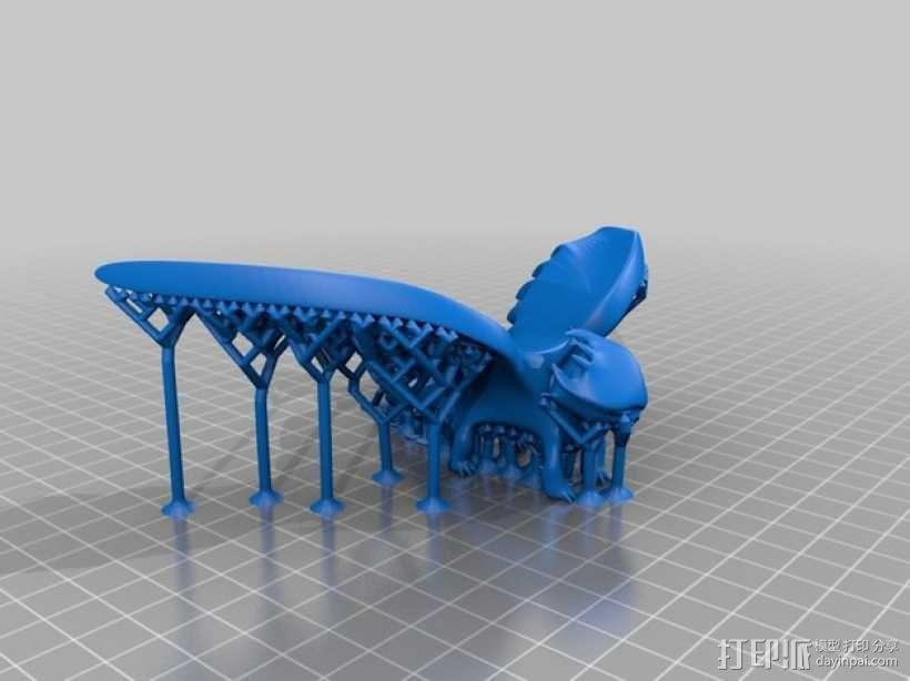 """《驯龙高手》""""夜煞""""龙 3D模型  图5"""