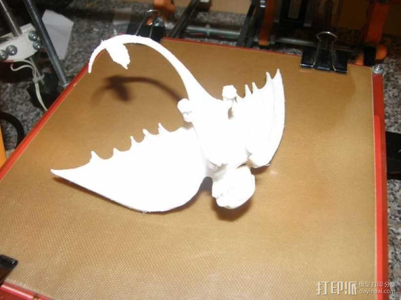 """《驯龙高手》""""夜煞""""龙 3D模型  图7"""