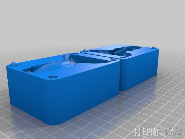 摩埃石像 模具 3D模型  图2