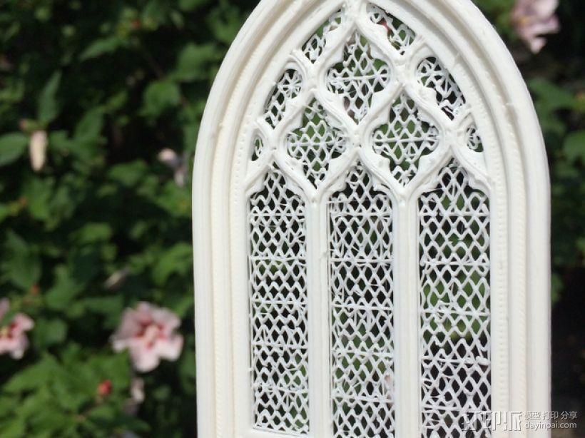 教堂窗户 3D模型  图4