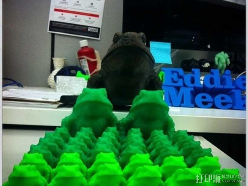 牛蛙 3D模型  图5