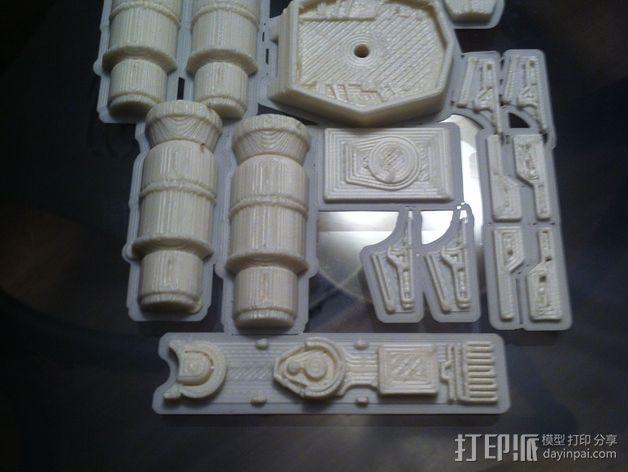《星球大战》X翼战斗机 3D模型  图11