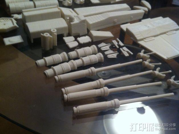 《星球大战》X翼战斗机 3D模型  图15