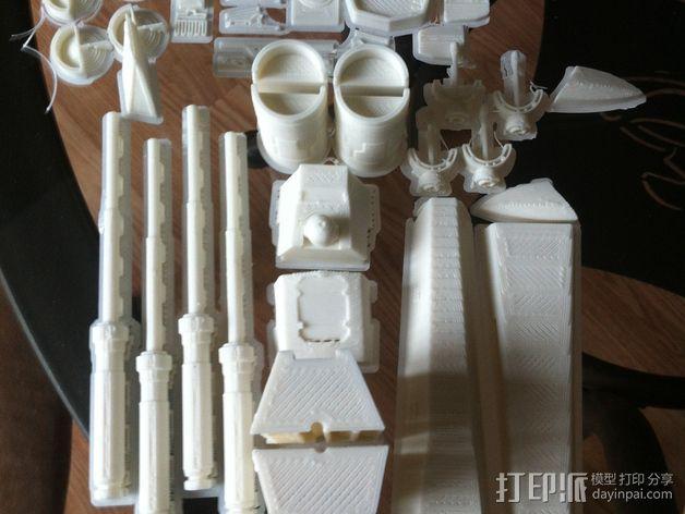 《星球大战》X翼战斗机 3D模型  图13
