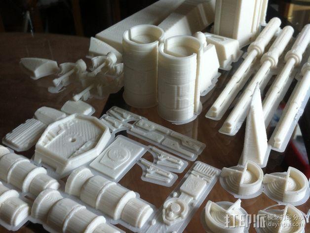 《星球大战》X翼战斗机 3D模型  图14