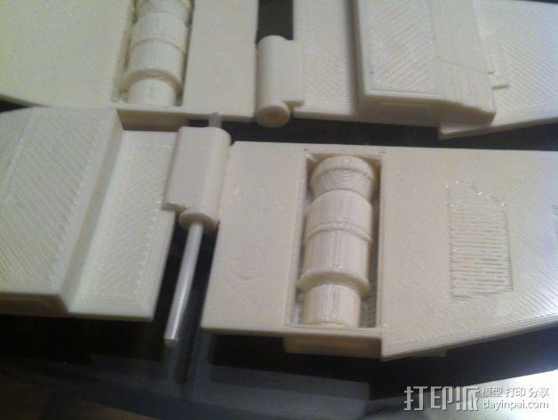《星球大战》X翼战斗机 3D模型  图22