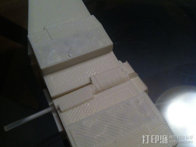 《星球大战》X翼战斗机 3D模型  图21