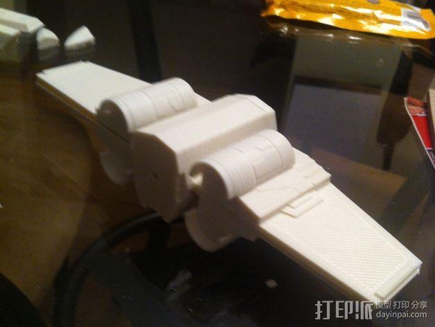 《星球大战》X翼战斗机 3D模型  图25