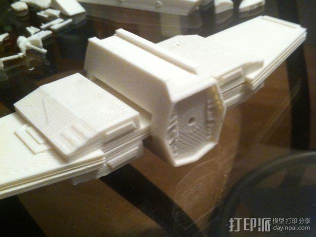 《星球大战》X翼战斗机 3D模型  图24
