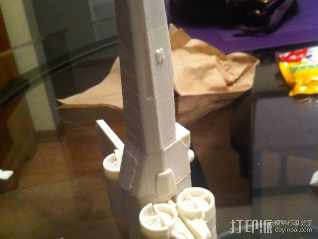 《星球大战》X翼战斗机 3D模型  图33