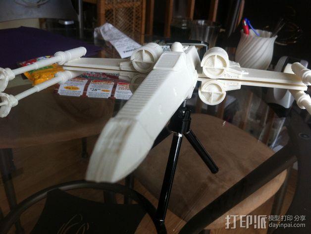 《星球大战》X翼战斗机 3D模型  图36