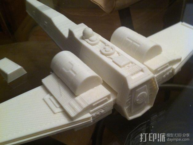 《星球大战》X翼战斗机 3D模型  图34