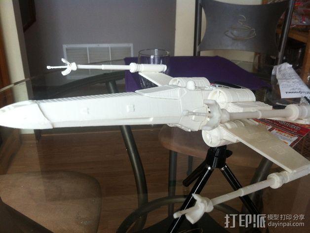 《星球大战》X翼战斗机 3D模型  图38