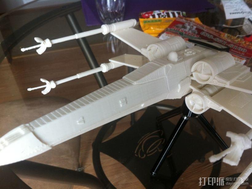 《星球大战》X翼战斗机 3D模型  图40
